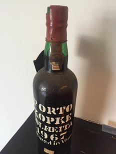 1967 Colheita Port Kopke - bottled in 1989