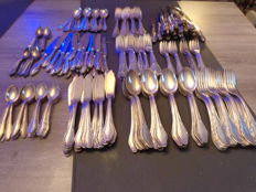 Jager Solingen 264 Piece Heavy Silver Plated Cutlery