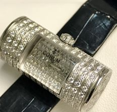 Corum - 137-801-69-0081-GR34 - Golden Tube 18K white gold ladies watch