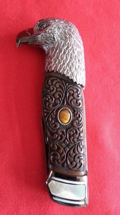 Franklin Mint eagle hunting knife - collectors knife, eagle