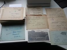 130 Feldpost letters WH LW