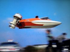 Glastron GT-150 with Evinrude 115 HP + trailer - 1972 - Legendary James Bond boat