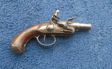 Flintlock Muzzleloading Pistol FRANCE 18th Century