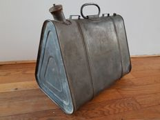 Antique German gasoline can - 1935, Germany - 37.5 x 28.5 x 24 cm