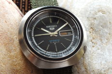 "SEIKO UFO ""5 Sports"" (6119-6400) Jumbo Case - Men's Automatic Watch - Vintage Year 1975"