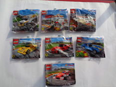 Lego Shell Polybags Complete Set All 7 - 40190 + 40191 + 40192 + 40193 + 40194 + 40195 + 40196