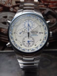 2000-2010 Seiko - Chronograph Alarm 100m - LIMITED EDITION - Men's Watch