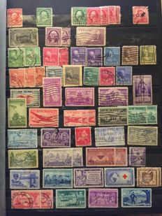 World, USA, Canada, Australia, New Zealand, St. Lucia, Trinidad & Tobago, Japan, China, Hong Kong, Germany, GDR of East Germany - postage stamp collection