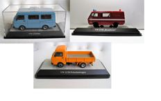 Premium ClassiXXs - Scale 1/43 - Lot with 3 models Volkswagen LT28 bus, LT28 Fire Department Waspik and LT 28pickup