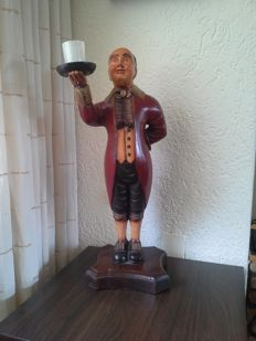 Large completely wooden English Butler.
