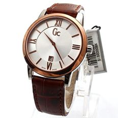 Guess Collection Swiss Made - Gc SlimClass Braun  - X60002G1S  - Uomo - 2011-presente