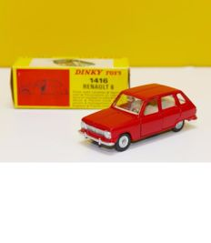 Dinky Toys-France - Scale 1/43 - Renault 6 No.1416