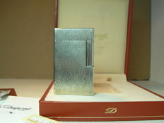 Silver plated Dupont lighter, line 1, large model