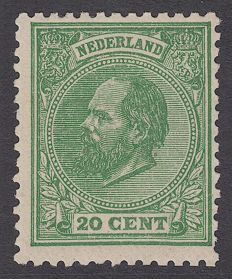 Netherlands 1884 - King Willem III - NVPH 24K