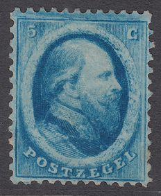 The Netherlands 1864 - King Willem III, second issue - NVPH 4