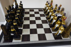 Deluxe chess/checkers, ancient Egypt