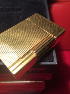 S.T. Gold plated Dupont Gastby line from the 90s.