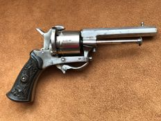 Ladies model Lefaucheux revolver pinfire 7 mm - ca. 1860