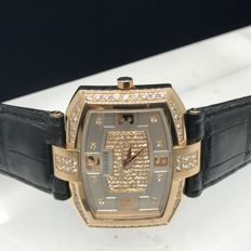Concord - 18K Rose gold with Top  diamonds  - 0310955 Men's watch 2011-present