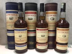 3 bottles - Glenmorangie Wood Finish