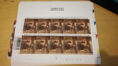 Belgium 2002 - batch of valid postage stamps, 560 x Anna Boch €0.84 - OBP 3062
