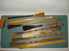 9 Exclusive Shoehorns - Various Models
