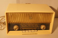 Rare Philips Philetta B2D33A tube radio from the 60s - works perfectly - TOP condition - collector's item