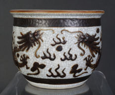 A Chinese porcelain Nanking brush wash - China - late 19th century