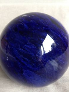 Beautiful Dark Blueberry Quartz Sphere - 10.20 cm - 1278 grams