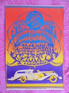 Rare Stanley Mouse 1967 Poster