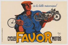 Pierre Bellenger - Favor Cycles & Motos - 1937