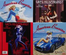 Calendar; Lot with 4 calendars by Greg Hildebrandt - 2004/2015