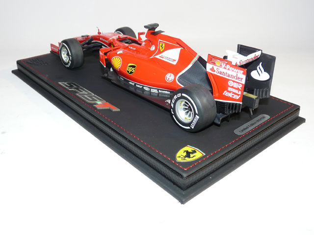 bbr scale 1 18 ferrari f1 2015 sf 15t sebastian vettel the 900st gp of ferrari including. Black Bedroom Furniture Sets. Home Design Ideas