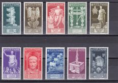 Kingdom of Italy - 1917-1938 - Five Complete Series and 1 Air Mail and Bellini - High Value