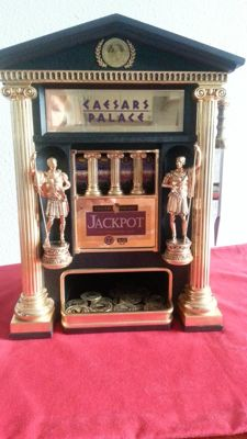 Franklin mint Cesar's palace slot machine, rare