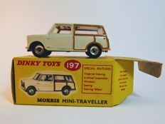 Dinky Toys - Scale 1/43 - Morris Mini Traveller No.197