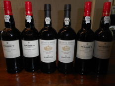 "2002 Port: 2x Vintage Burmester ""Quinta Nova de nossa Senhora do Carmo"" & 4x Colheita Warre's - botlled in 2013 - 6 bottles in total"