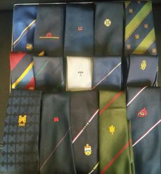 Collection of 250 business ties