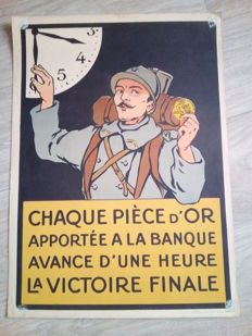 Original propaganda poster 1st world war