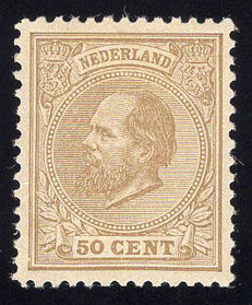 The Netherlands 1888 - King Willem III - NVPH 27L