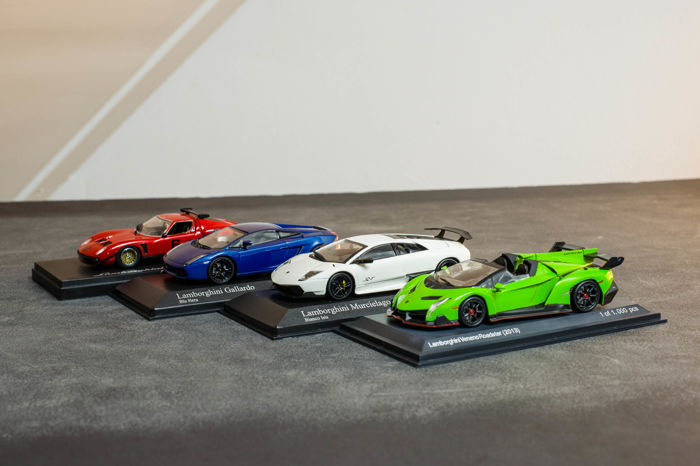 Kyosho Minichamps White Box Scale 1 43 Lot With 4 Models