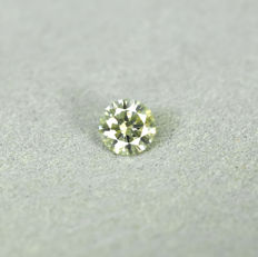 Diamond - 0.29 ct, Si1 - Fancy Greenish Yellow