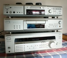 Sony 5.1Ch STR-DE435 Home Theatre Hi-Fi with MDS-JE640 minidisc and CDP-XE530 CD player