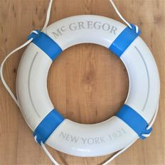 McGregor 1921 - Vintage Life Buoy - Very rare store display