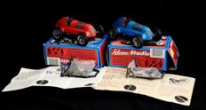 Schuco, Western Germany - Length 14 cm - Lot of 2 x Studio 1050 tin replicas, 1980s/1990s