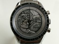 Omega - Speedmaster Professional - Apollo XVII - 40th Anniversary - Limited Edition - The Last Man On The Moon - Ref. 3113042 - Year 2013 - Men's Watch