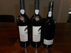 "2006 Vintage Port: 2x Rozes ""Terras do GriFo"" & 1x Quinta do Roriz - 3 bottles in total"