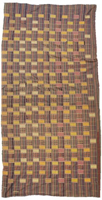 A Kente man´s cloth, Ghana