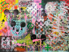 Jeannette Amsterdam - Mickey collage #8