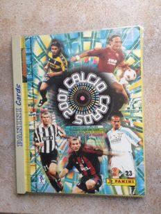 Panini - Calcio cards 2001 - Album completo.